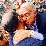 Bersani e Pisapia a Milano